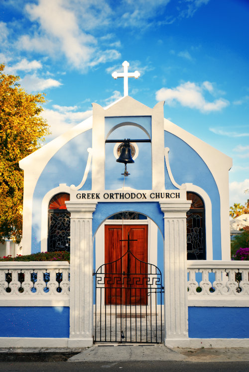 greek orthodox church architecture photography Bahamas